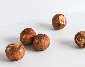 Avocado Seed 3D