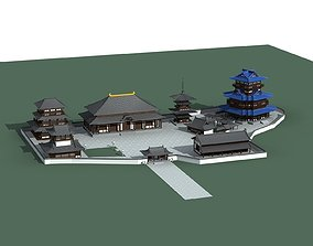 commercial 3D Chinese Style Architecture