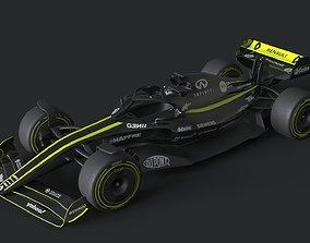 f1 renault 2021 - 2023 concept 3D asset