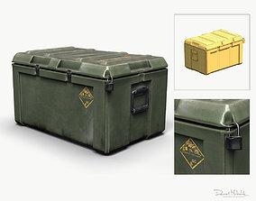 Military LOOT Weapon Case PBR 3D asset