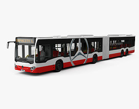 3D model Mercedes-Benz CapaCity L 4-door Bus with HQ 1