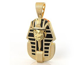 3D print model pharaoh pendant 83 gem
