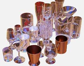 3D Bartender Tools Set 04