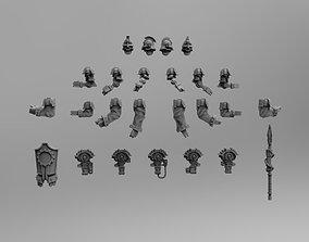 Mechanic Guard Lancers set 3D print model