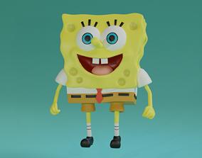 3D model animated Spongebob squarepants