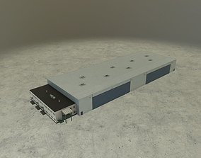 3D asset EDDB Hangar 3