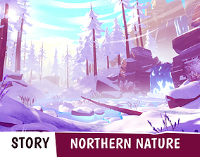 STORY - Northern Nature 3D asset