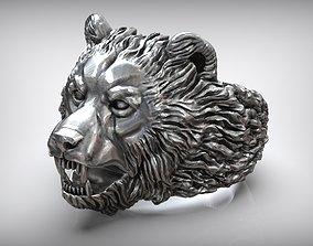 Baribal American Black Bear Ring 3D printable model