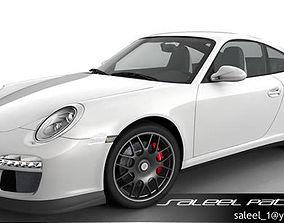 3D model Porsche 911 GTS 2012