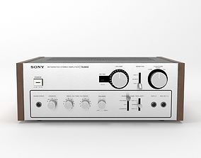 Sony TA-2650 Integrated Stereo Amplifier 3D model