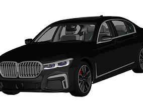 German Generick Sedan 2020 3D model