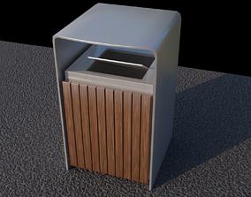 Public Bin 3D asset
