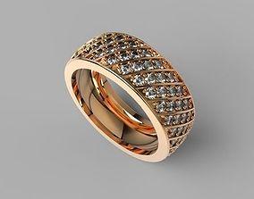 3D print model Ring radiance diamonds