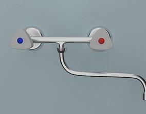 3D model tap faucet Mixer