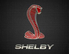 shelby logo 2 3D