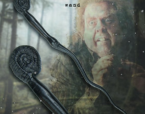3D printable model Peter Pettigrew Wand hermione