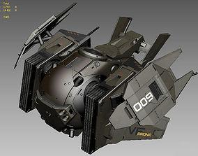 Drone 2 texture 3D model