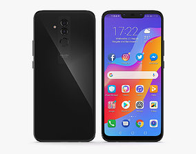 Huawei Mate 20 Lite Space Gray 3D