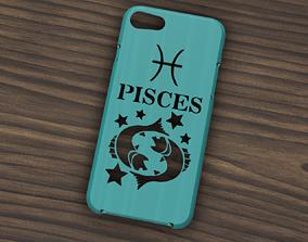3D CARCASA IPHONE 7-8 PISCES SIGN