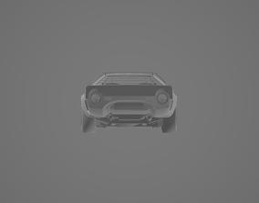 Lancia Stratos HF 3D asset