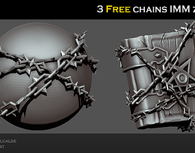 3D asset Free Dungeon chains IMM Zbrush Brushes