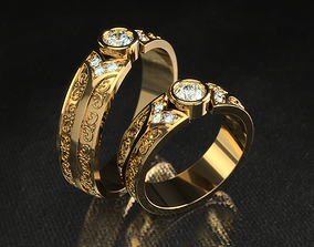 3D printable model Ring 0256 all sizes 14-23
