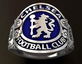 3D print model CHELSEA The Blues Ring