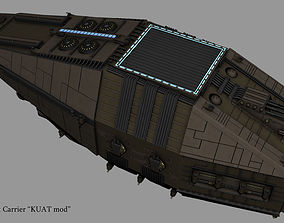 3D Imperial Escort Carrier KUAT mod