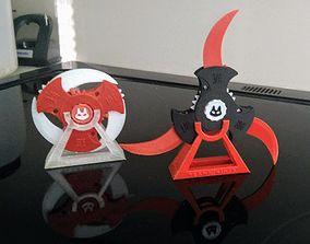 cat Cats Claw Shuriken 3D print model