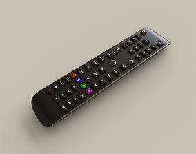 3D model Smart TV Remote