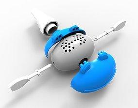 Blue Frog tap 3D