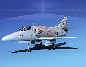 Douglas A-4G Skyhawk USN 3D
