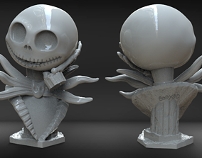 Jack Skellington Bust 3D print model