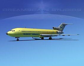 Boeing 727-200 Hughes Airwest 3D model