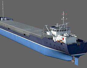 General Cargo Ship DAMEN COMBI COASTER 2750 3D model
