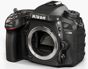 3D asset Nikon D7200