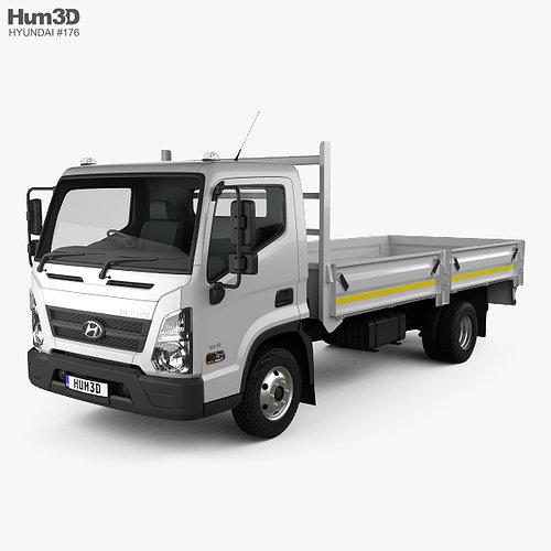 Hyundai_Mighty_EX8_Flatbed_Truck_2018_60