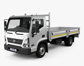 Hyundai Mighty EX8 Flatbed Truck 2018 3D model