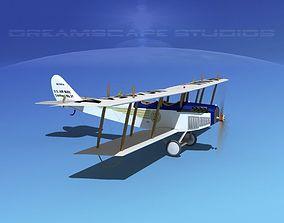 Curtiss JN-2 Jenny V11 US Air Mail 3D model