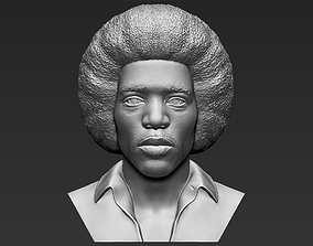 Jimi Hendrix bust 3D printing ready stl obj formats