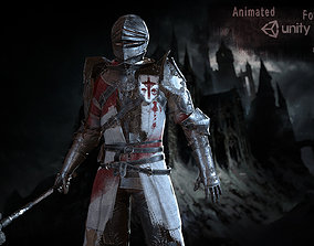 Knights 3D asset animated realtime