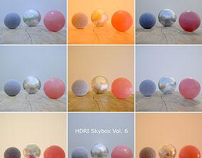 HDRi Vol 6 Skybox Collection 3D asset