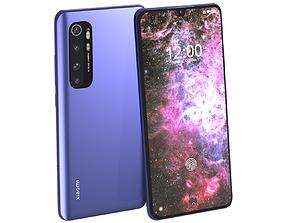 nebula 3D Xiaomi Mi Note 10 Lite Nebula Purple