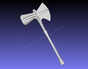 Asgardian Handle Stormbreaker Assembly 3D print model