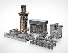 sci fi props 2 3D model