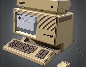 Computer 03 80s Retro 3D model