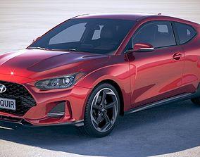 3D Hyundai Veloster 2019