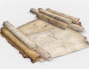 Old Parchment 3D model