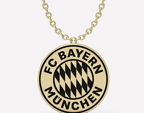 pendant Pendant Bayern Munchen 3D printable model