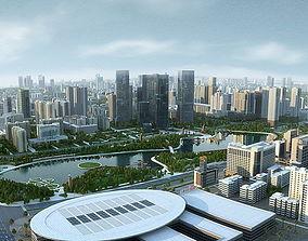City Big Cityscape 004 3D model